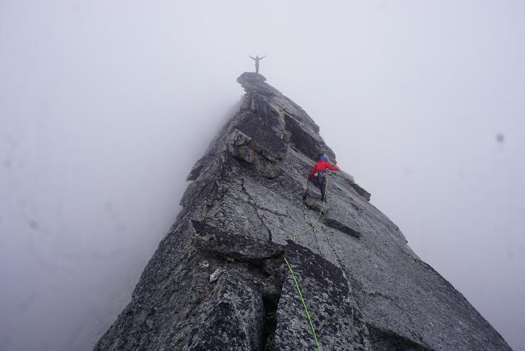 """На вершине маршрута """"Arctic Knight"""""""