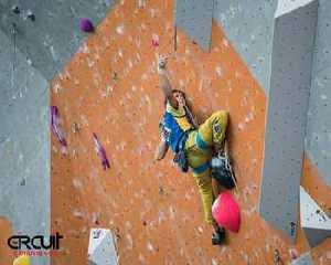 Украинские скалолазы в десятке сильнейших на этапе Кубка Мира в Эдинбурге