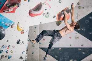 Скалолазание: работа ног в движении