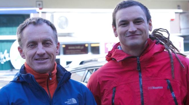 Сильнейшие польские альпинисты: Денис Урубко и Адам Белецкий