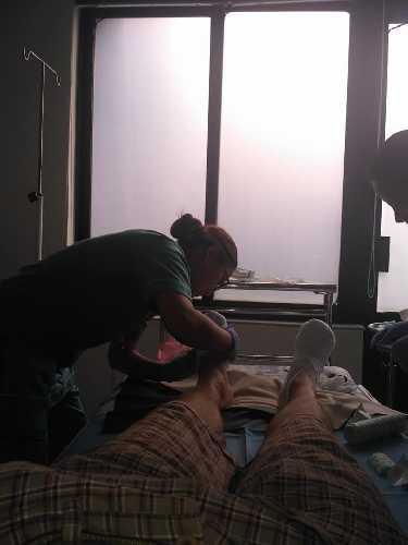 В больнице в Катманду