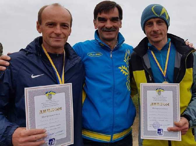Победители соревнований: Валентин Сипавин - Евгений Тимко