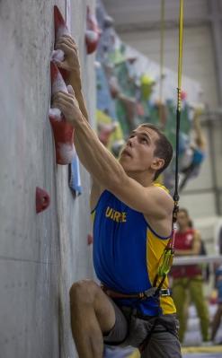 Константин Павленко - серебряный призер молодежного Чемпионата Европы по скалолазанию в Перми