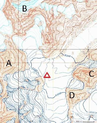 обзорная карта экспедиции