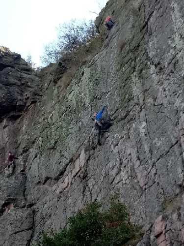 Чемпионат Украины по альпинизму в скальном классе
