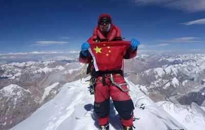 Китайский альпинист Чжан Лян стал первым в своей стране, кто прошел все 14 восьмитысячника мира!