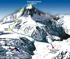 Альпинист - диабетик поднялся на вершину восьмитысячника Дхаулагири