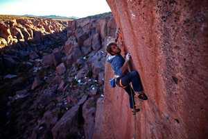 Немецкий скалолаз Пирмин Бертле открывает самый сложный в Южной Америке скалолазный маршрут