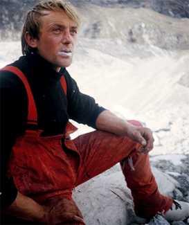 Умер выдающийся словенский альпинист Франц Кнез
