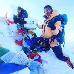 Альпинистка из Японии установила рекорд в восхождении на восьмитысячник Манаслу: на вершину за 6 дней