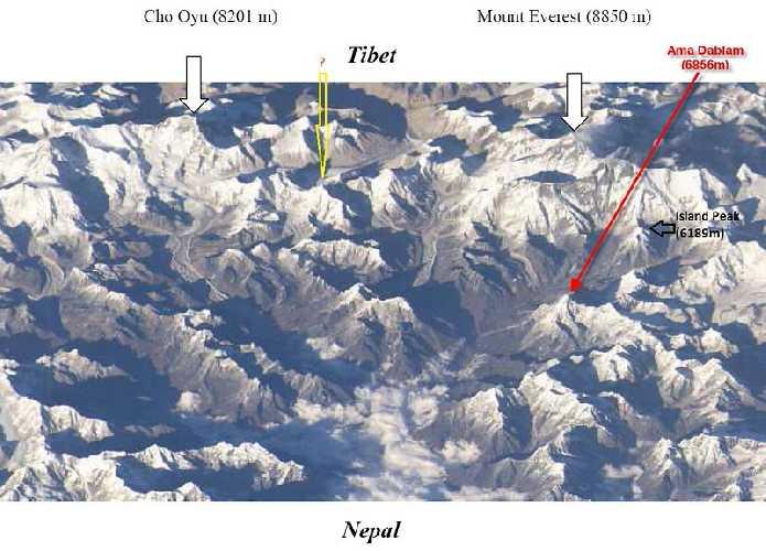 Локация Берк-Канг (Burke-Khang) высотой 6942 метра