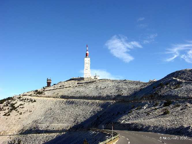 Метеостанция на горе Ventoux