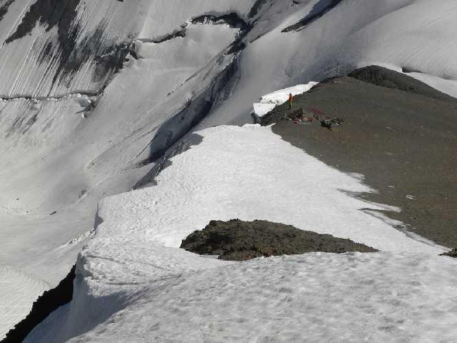 Лагерь возле вершины г. Лайла 3990м
