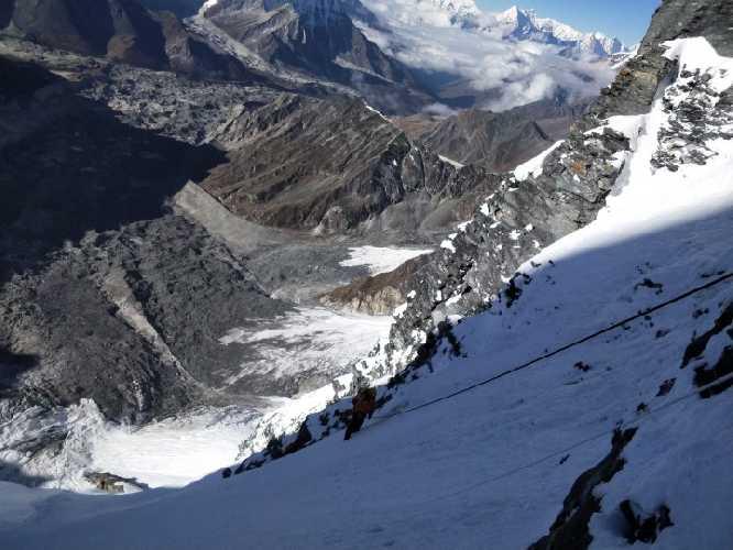 маршрут во второй высотный лагерь