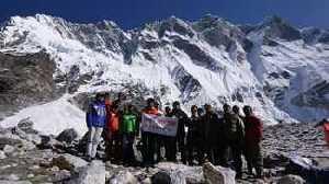 Южная стена Лхоцзе. Корейская экспедиция 2017 года: ветер, снег и холод