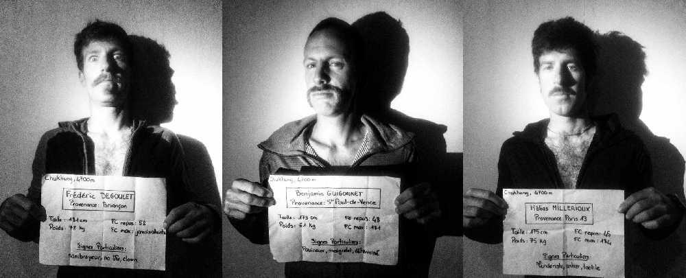 """""""Усатая банда"""" - Фредерик Дегуле (Frederic Degoulet), Бенджамин Гигоннэ (Benjamin Guigonnet), Элиа Мийриу (Hélias Millerious). Фото Le Gang des Moustaches"""
