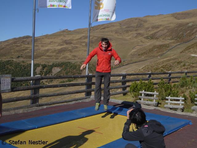 Алекс Хоннольд (Alex Honnold) на склонах горы Плозе