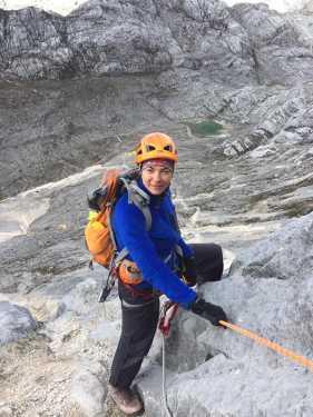 За шаг до национального рекорда: украинка Татьяна Яловчак поднялась на высшую точку Австралийского архипелага - Пирамиду Карстенз