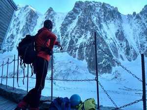 Киевские альпинисты прошли два маршрута на Монблане по северным стенам четырёхтысячников Гран Жорасс и Ле Друат