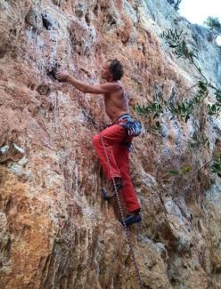 Одессит Евгений Кривошейцев одержал победу в международном скалолазном фестивале