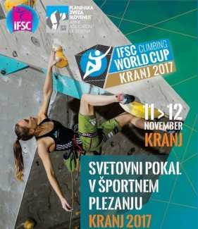 Финал Кубка Мира по скалолазанию 2017 года: от Украины выступят 3 спортсмена