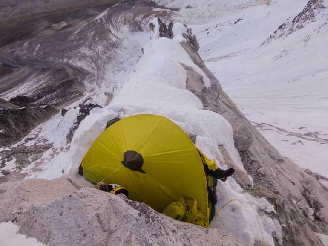 Лагерь 2 5500 метров. Фото bergfuehrerkals.wordpress.com