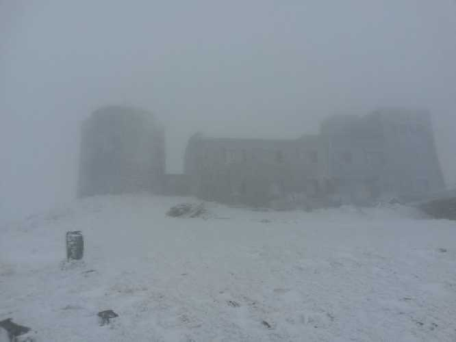 24 окября 2017 года. обсерватория на г. Поп-Иван Черногорский. Фото www.facebook.com/chornogora.rescue112