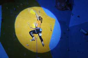 Заключительный 3-й этап Кубка Украины 2017 года по скалолазанию в дисциплине трудность. Фото Екатерина Полянская