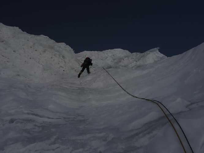 Ледопады З гребня...