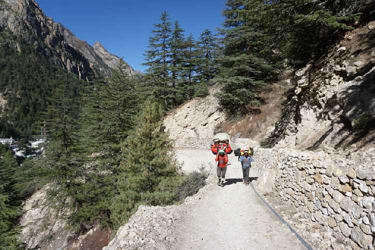 На пути в базовый лагерь. Фото bergfuehrerkals.wordpress.com