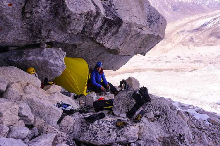 Лагерь на 5000 метров. Фото bergfuehrerkals.wordpress.com