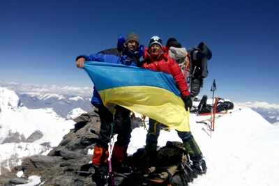 Семейная пара из Киева стала победителями Чемпионата Украины по альпинизму среди ветеранов