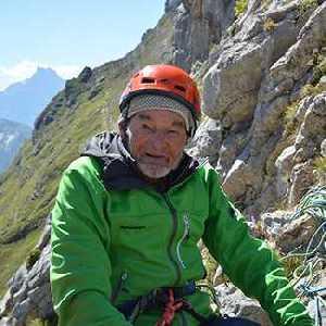 Марсель Реми: 94-летний скалолаз