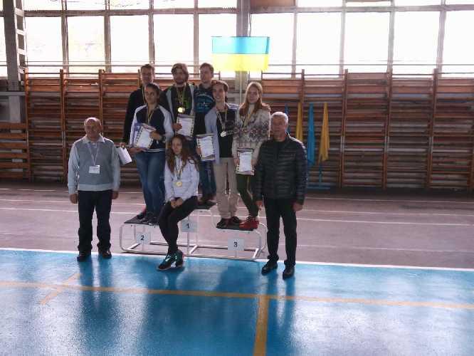 Победители соревнований. Фото Федерація альпінізму і скелелазіння України
