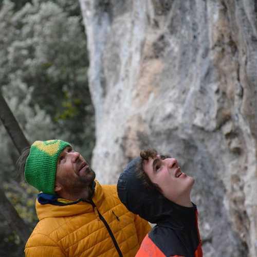 Адам Ондра (Adam Ondra) и Мауро Маббони (Mauro Mabbon). Фото Adam Ondra