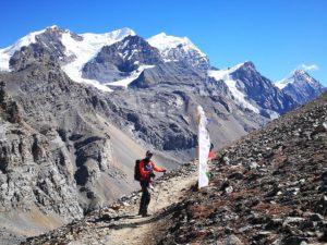 Итало-непальская команда альпинистов открывает новый маршрут на вершину горы Гьянджиханг (7074 метров) в Непале
