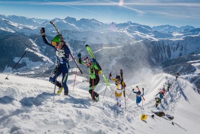 Соревнования по горнолыжному спорту La Pierra Menta 2016. Фото Pierra Menta