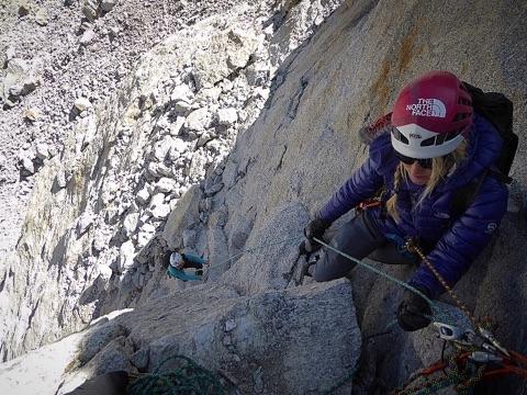 На вершину Peak 5400. Фото Lindsay Fixmer