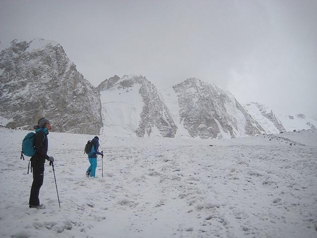 По леднику Tetleh Glacier. Фото Anna Pfaff