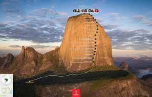 Как это было: первое восхождение на скалу Pedra Baina, самый большой BigWall в Бразилии