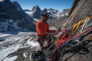 Команда Майка Либецкого открывает в Гренландии новый маршрут