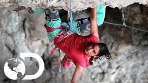 Канал Discovery представляет сильнейших скалолазок Мексики