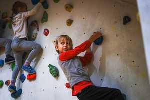 В Киеве состоялся крупнейший в Украине детский фестиваль скалолазания Junior Climbing Jam