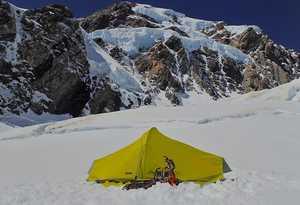 Новый маршрут на гору Кука в Новой Зеландии