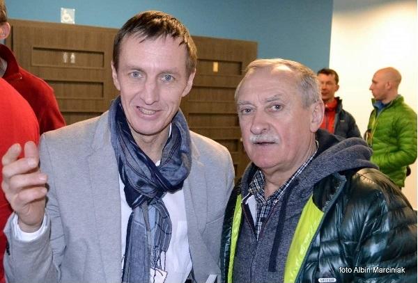 Денис и Кшиштоф, два зимних «джентльмена» (Photo Albin Marciniak)