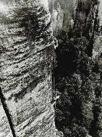 Вольфганг Гюллих (Wolfgang Gullich) - легенда скалолазания. Фото из архива Bernd Arnold