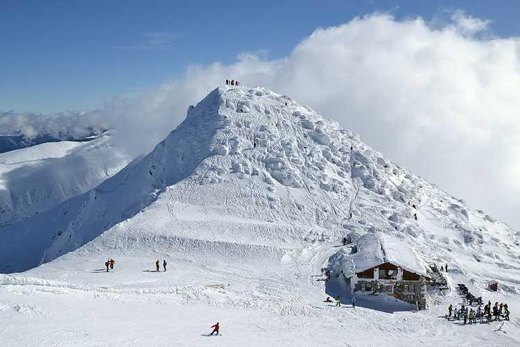 Гора Хопок в Низких Татрах