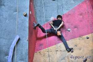 Фоторепортаж: Чемпионат Львовской области по скалолазанию