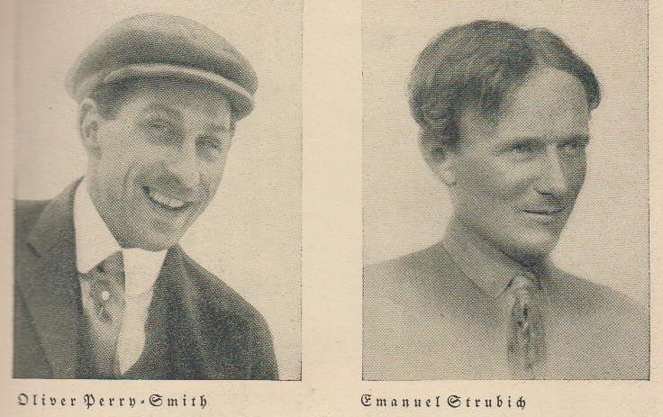Оливер Перри-Смит (Oliver Perry-Smith) и Эмануэль Штрубич (Emanuel Strubich) (Фото: из архива Gert Tschunko)