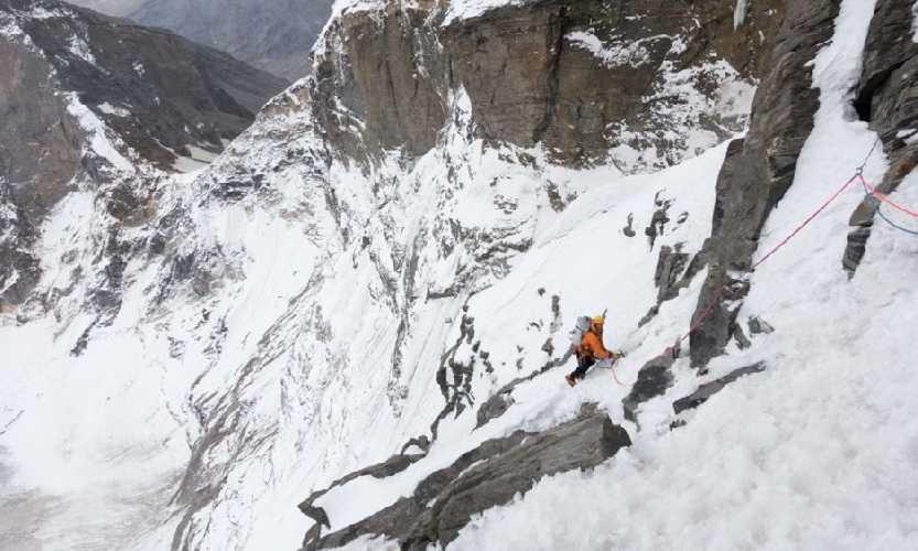 Восхождение по Северному хребту Рунгофарка (Rungofarka, 6495 м). Фото Tino Villanueva